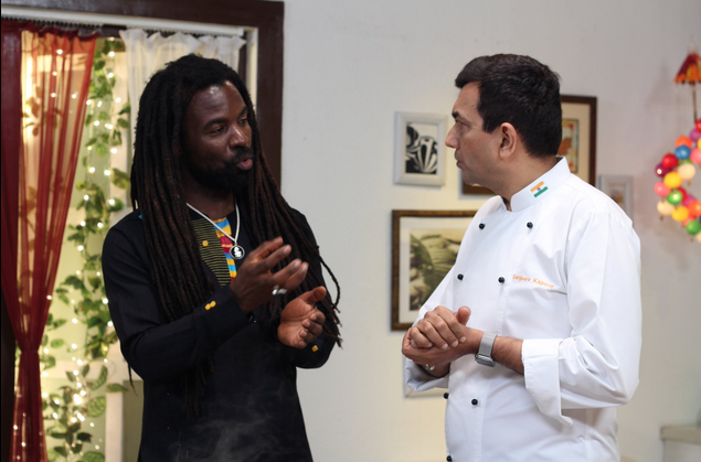 Clean Cook Stove with Rocky Dawuni