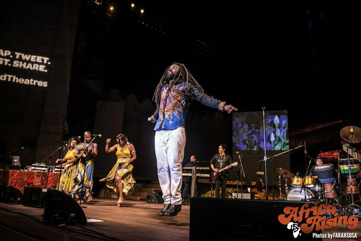 Rocky Dawuni at Africa Rising