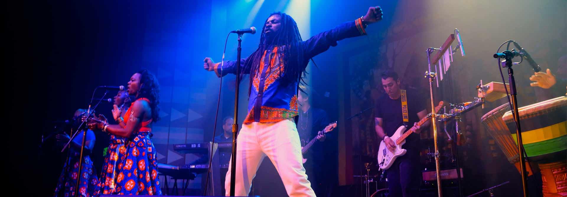 Afro Roots Artist Rocky Dawuni
