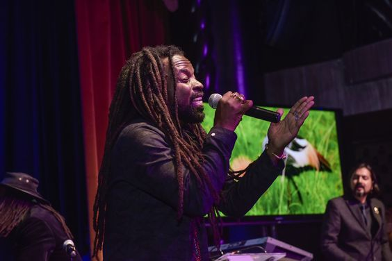 Rocky Dawuni joins Ricky Kej at RoundGlass Music Awards in NYC