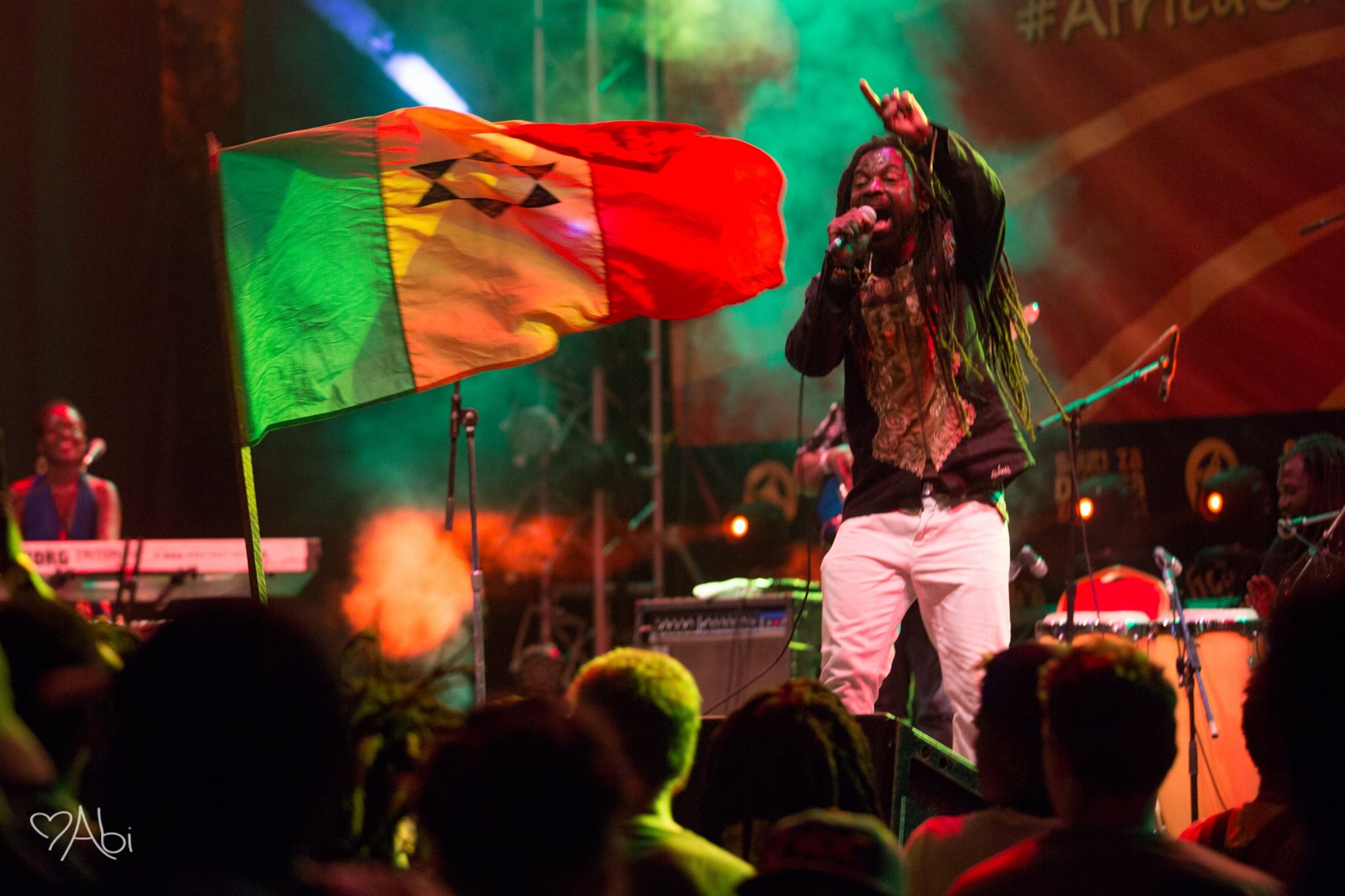 Rocky Dawuni LIVE at Teragram Ballroom in Los Angeles August 16!