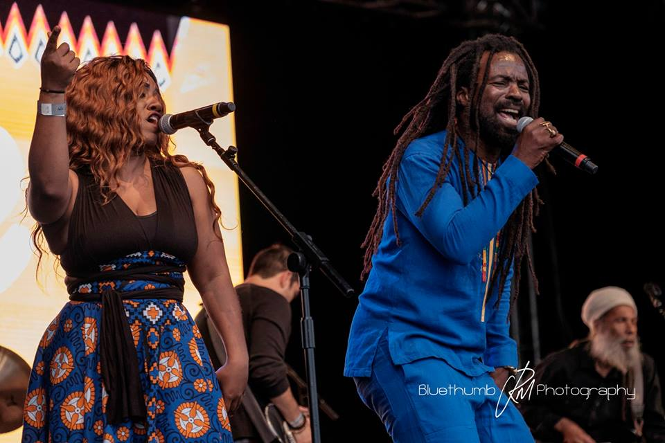Rocky Dawuni Video from Africa Oye' Festival in Liverpool, UK!